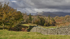 Photo of The Langdale Pikes in Autumn