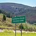 Continental Divide (Elk Park Pass, northeast of Butte, Montana, USA)