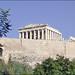 Le Parthénon sur l 'Acropole d'Athènes (Grèce)