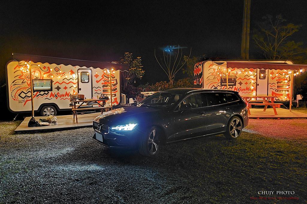 (chujy) Volvo V60 T8 Recharge Inscription 露營。海岸。美景之旅 - 31