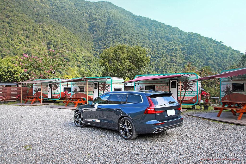 (chujy) Volvo V60 T8 Recharge Inscription 露營。海岸。美景之旅 - 30