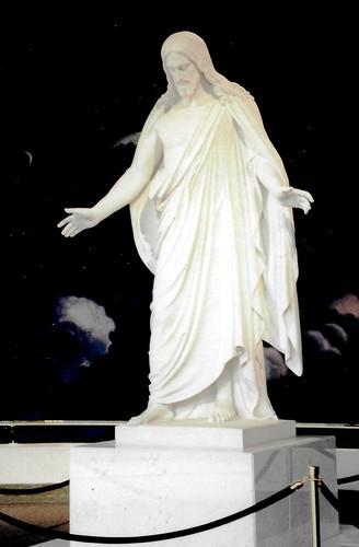 Lovely Statue of Jesus Christ in Salt Lake City, Utah
