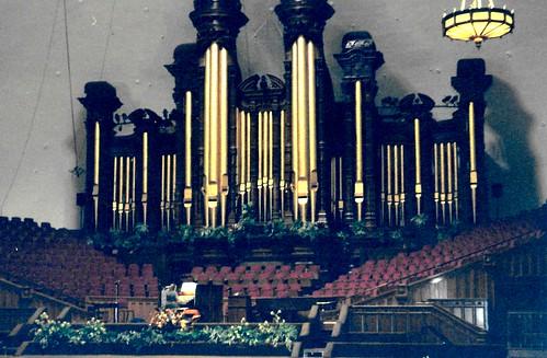 Mormon Tabernacle Choir Organ, Salt Lake City, Utah