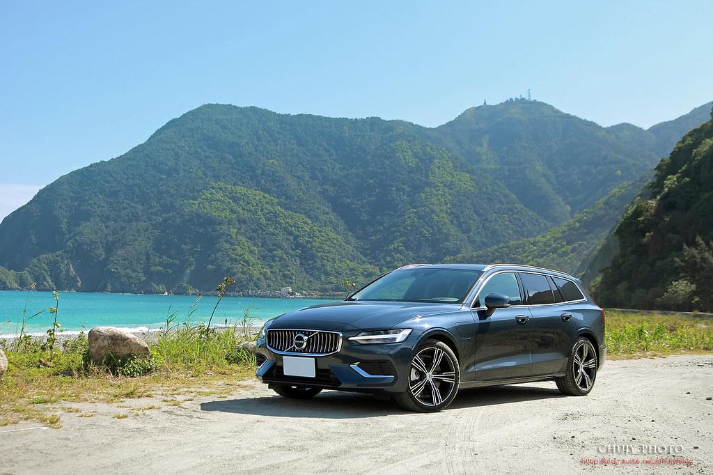 (chujy) Volvo V60 T8 Recharge Inscription 露營。海岸。美景之旅 - 77