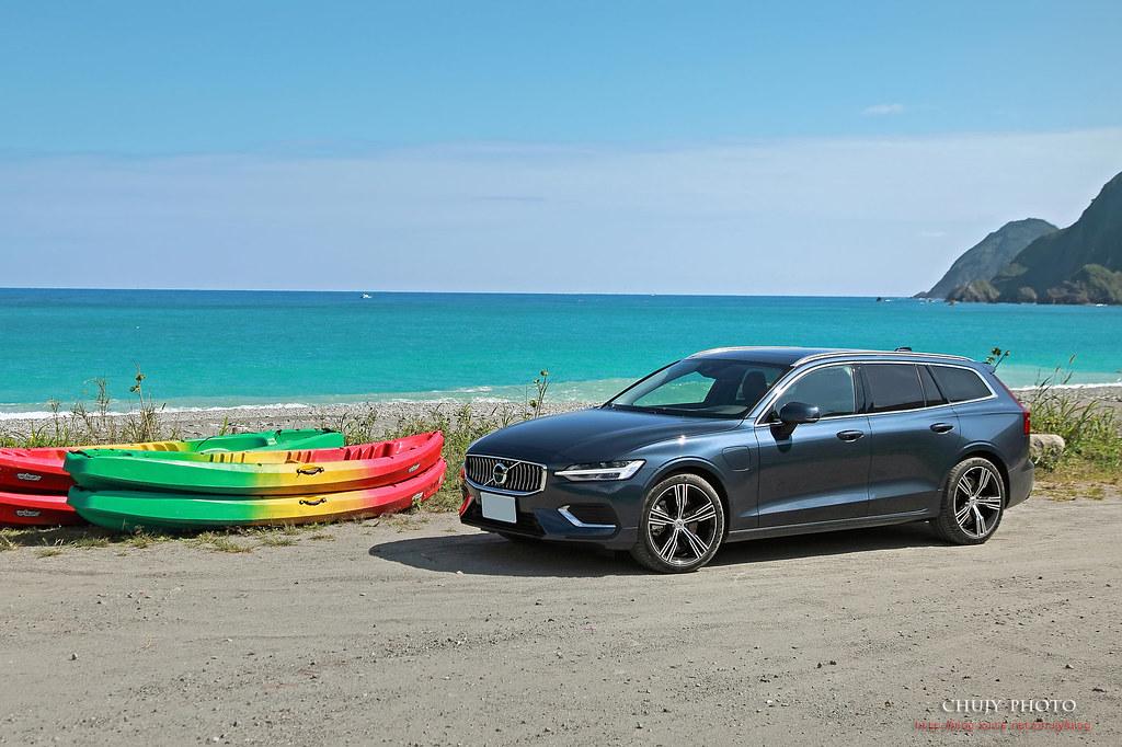 (chujy) Volvo V60 T8 Recharge Inscription 露營。海岸。美景之旅 - 8