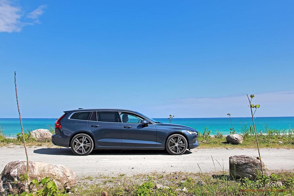 (chujy) Volvo V60 T8 Recharge Inscription 露營。海岸。美景之旅 - 9
