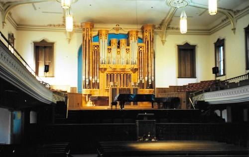 Interior of The Assembly Hall Church,  Salt Lake City, Utah
