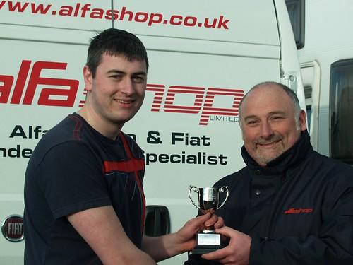 Matt Daly a winner at Cadwell in 2008