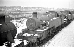 Photo of Kirkby-in-Ashfield Nottinghamshire 17th February 1963