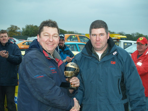 Champion to Champion - Neil Smith 2008 and Phil Donaghy 2007