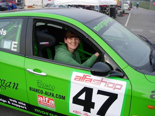 Andrea Heels at Oulton 2007