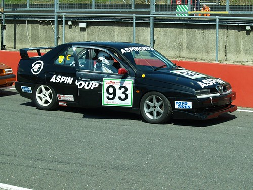 Barry McMahon waits to qualify 155 at Brands
