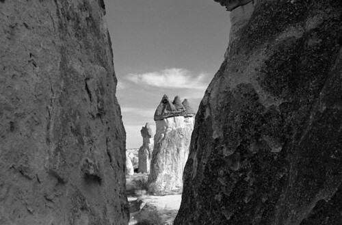 """Between the Hoodoos  (Nikon FM3a / Tri-X) • <a style=""""font-size:0.8em;"""" href=""""http://www.flickr.com/photos/65969414@N08/50990411771/"""" target=""""_blank"""">View on Flickr</a>"""