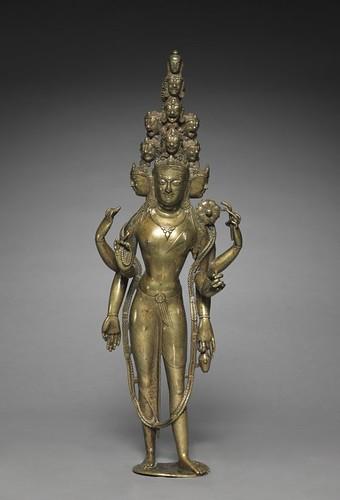 Eleven-Headed Bodhisattva of Compassion (Avalokiteshvara), From FlickrPhotos