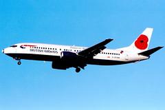 Photo of British Airways | Boeing 737-400 | G-BVNM | poppy tail | London Gatwick