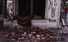 Tornado hits Los Angeles. March 1, 1983