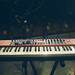 Nord electro 6D on stage closeup.