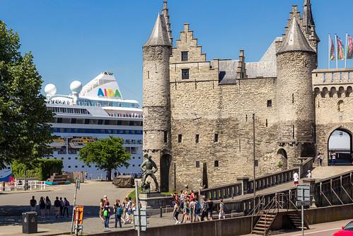 Anvers - Le Steen (XIII-XVI siècles)