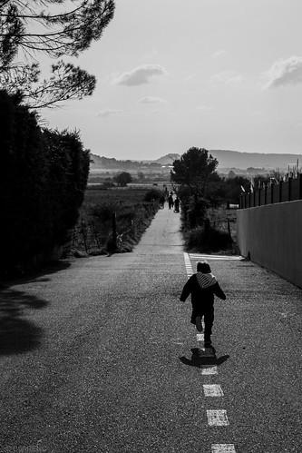 trajectoire d'enfant