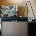 Old Marshall Bluesbreaker 1962 in living room.