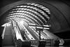 Futuristic Tube Station