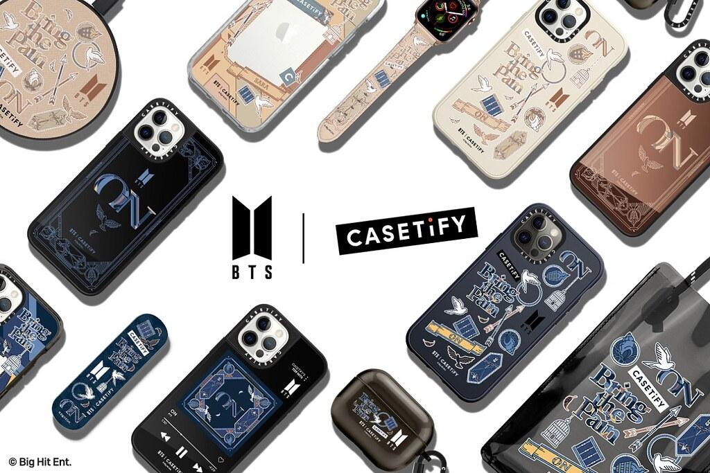 1. BTS 與 CASETiFY 聯名系列將於 3 月 9 日於 CASETiFY 官方網站全球正式發售