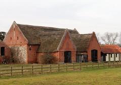 Photo of Claxton Manor barn, Norfolk
