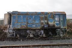 Photo of Class 08 P400D Rocks Works 6-12-09