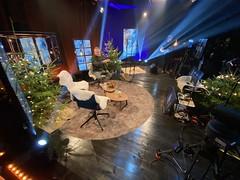Julpyntad studio