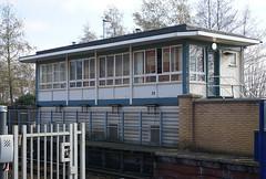 Photo of Warrington Central Station Signal Box
