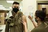 Nebraska Guardsmen volunteer for COVID-19 vaccine