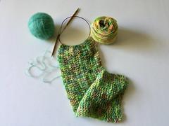 60/365: Scarf Knitting