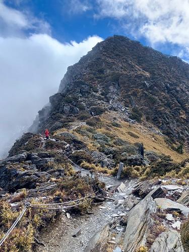 阿丹南湖登山8
