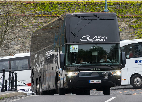 Austria tourist bus: Van Hool Altano # ZE-888 IU