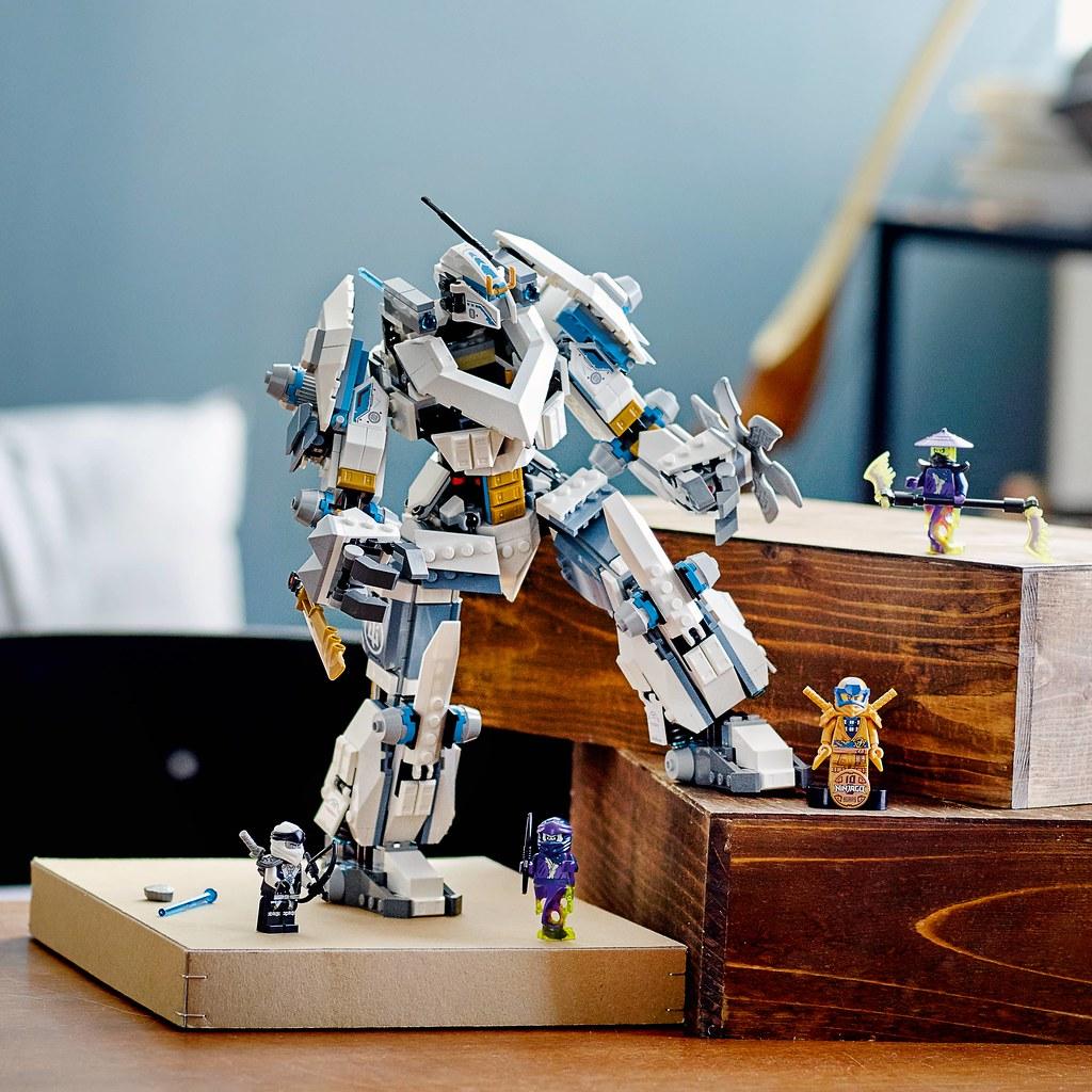 樂高於2011年推出原創NINJAGO旋風忍者系列,於今年邁入10週年 一次推出多組紀念盒組