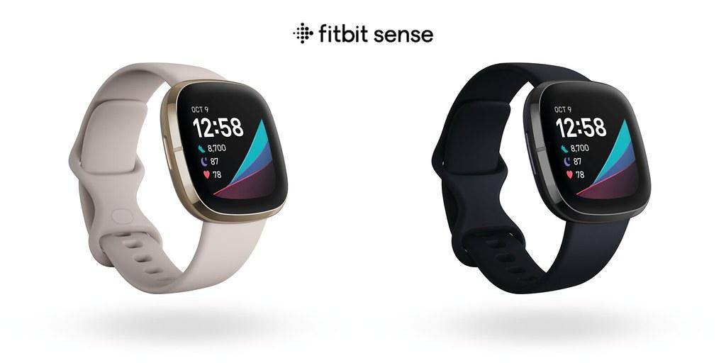 圖四(1):Fitbit 免費開放 Sense 裝置健康指標儀表板功能,協助用戶檢視一周的關鍵健康指標