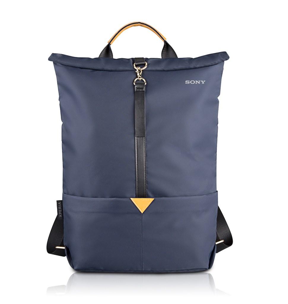 圖說七、春季把握時機!購買Xperia雙旗艦送索粉限定禮品Xperia兩用後背包