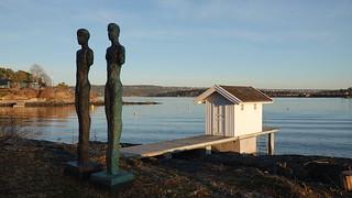 Vårstemning på Huk, Bygdøy