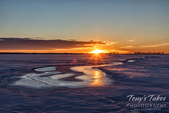 River in the ice