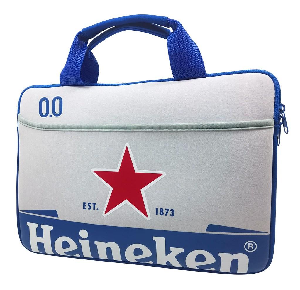 【贈品照】海尼根0.0星潮電腦提包