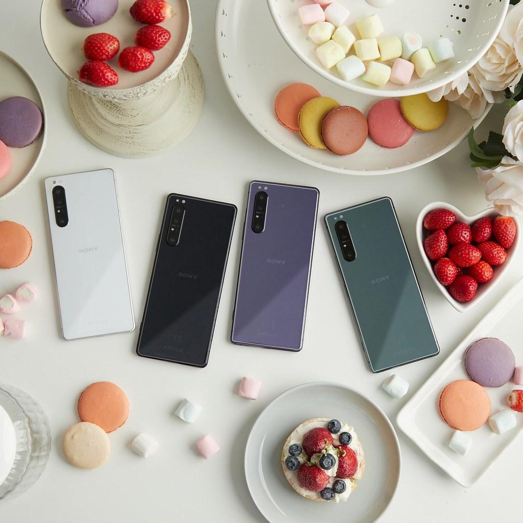 圖說四、購買大師級旗艦5G手機Xperia 1 II,可享3000元配件購物金