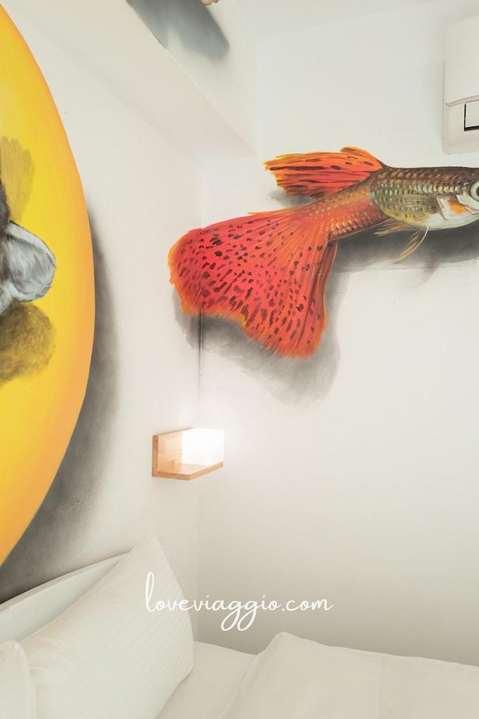 【台東 Taitung】米豆文旅3D手繪設計旅店 台東市區附早餐停車場的高CP住宿 @薇樂莉 Love Viaggio | 旅行.生活.攝影