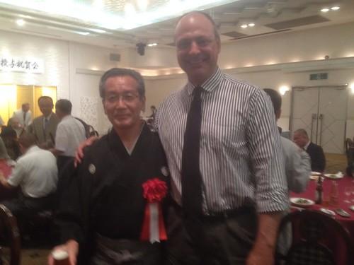 Celebrating My Teacher as Hanshi