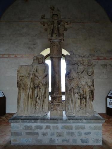 ca. 1500-1510 - 'calvary', cemetery of Villanière, dép. Aude, Château comtal, Carcassonne, dép. Aude, France