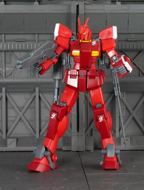 驚異紅戰士
