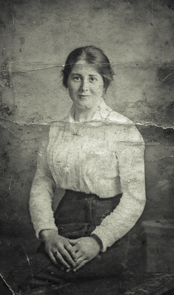Susan Buchanan, 1916.