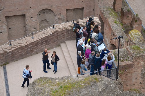 Crowd In The Roman Forum