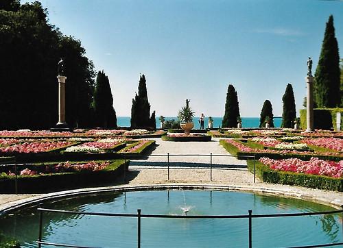 Trieste, Castello di Miramare, Park
