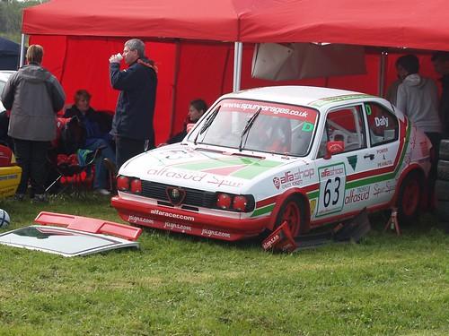 In need of repair - Matt Daly Sud Ti at wet Pembrey