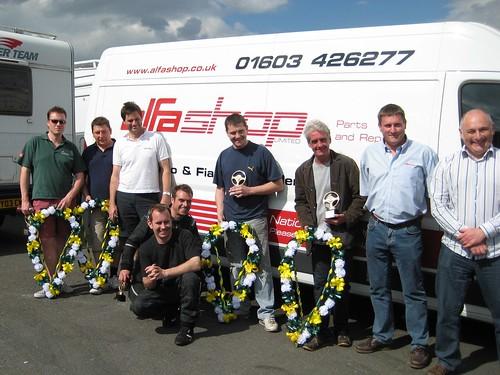 Winners at Brands Hatch 2008